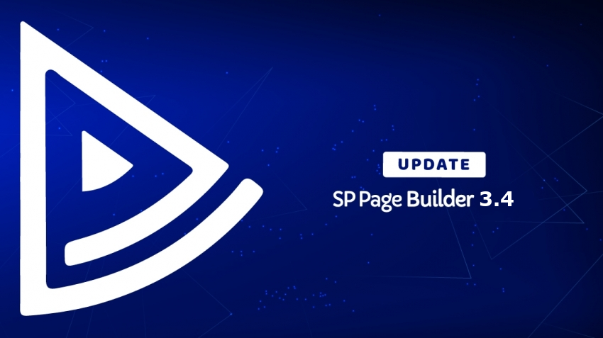 Update SP Page Builder 3.4